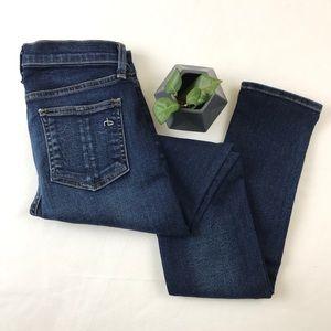 Rag & Bone High Rise Skinny Jean Store Exclusive